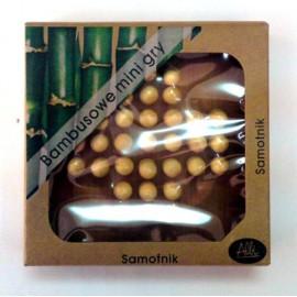 Bambusowe mini gry: Samotnik