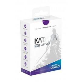 Ultimate Guard Katana Sleeves Standard Size Purple (100)