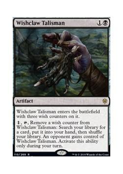 Wishclaw Talisman