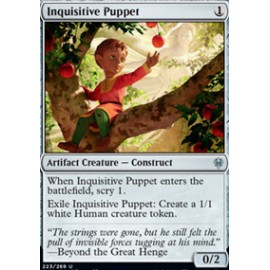 Inquisitive Puppet