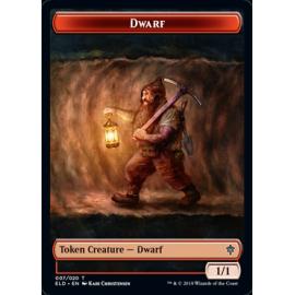 Dwarf 1/1 Token 007 - ELD