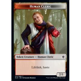 Human Cleric 2/1 Token 011 - ELD