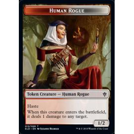 Human Rogue 1/2 Token 012 - ELD