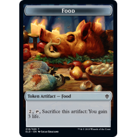 Food Token 018 - ELD