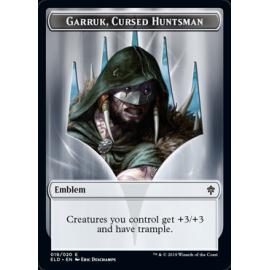 Garrun, Cursed Huntsman Emblem 019 - ELD