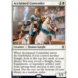 Acclaimed Contender FOIL