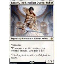 Linden, the Steadfast Queen FOIL