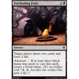 Foreboding Fruit FOIL