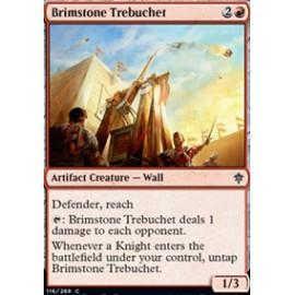 Brimstone Trebuchet FOIL