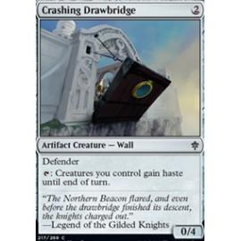 Crashing Drawbridge FOIL