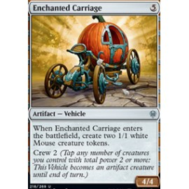 Enchanted Carriage FOIL