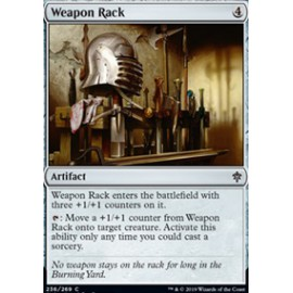 Weapon Rack FOIL