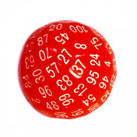Kość Rebel K100 ścian - matowa czerwona