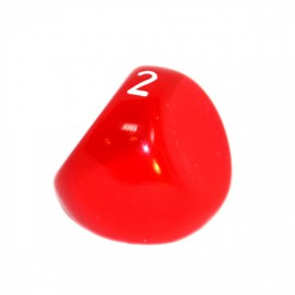 Kość Rebel K3 - matowa czerwona