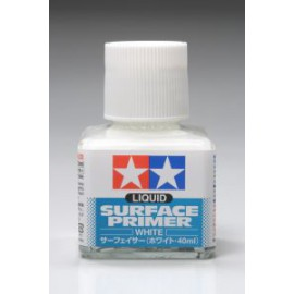 Liquid Surface Primer - White (Tamiya 87096)