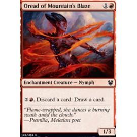 Oread of Mountain's Blaze FOIL