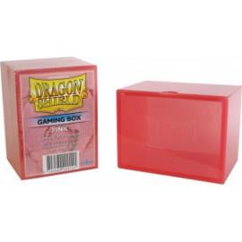 Pudełko Dragon Shield na 100 kart - różowe