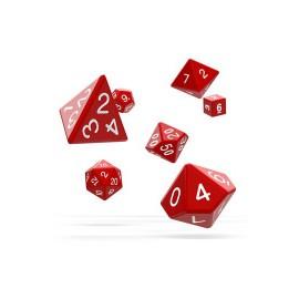 Zestaw kości Oakie Doakie Dice RPG Set - czerwone