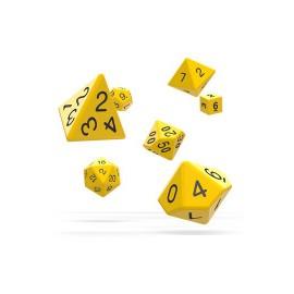 Zestaw kości Oakie Doakie Dice RPG Set - żółte
