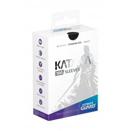Ultimate Guard Katana Sleeves Standard Size Black (100)