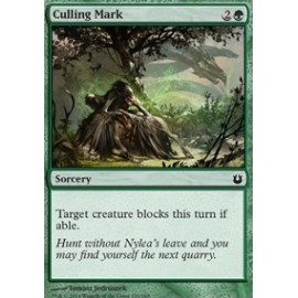 Culling Mark