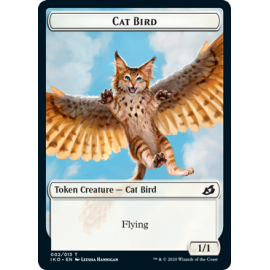 Cat Bird 1/1 Token 002 - IKO