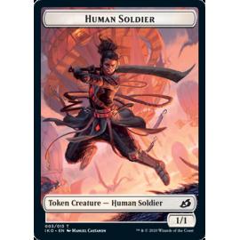 Human Solider 1/1 Token 003 - IKO