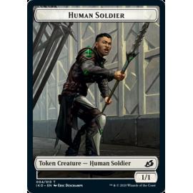 Human Solider 1/1 Token 004 - IKO