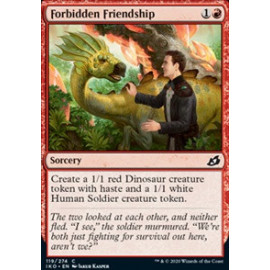 Forbidden Friendship FOIL
