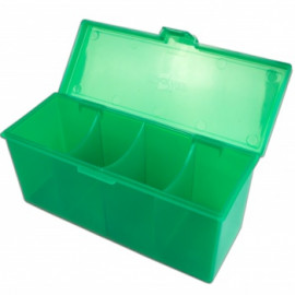 Blackfire 4-Compartment Storage Box - Zielone
