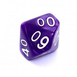 Kość Rebel K100 - perłowa fioletowa