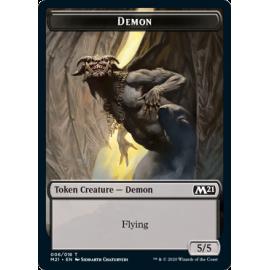 Demon 5/5 Token 006 - M21