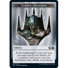Garruk, Unleashed Emblem 017 - M21