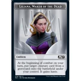 Liliana, Waker of the Dead Emblem 018 - M21