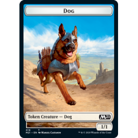 Dog 1/1 Token 019 - M21