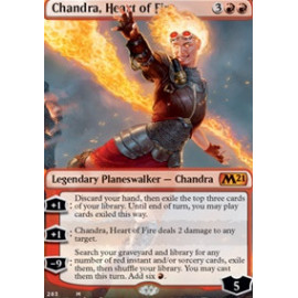 Chandra, Heart of Fire (Extras V.1)