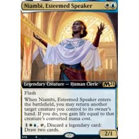 Niambi, Esteemed Speaker (Extras V.1)