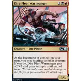 Dire Fleet Warmonger FOIL