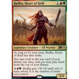 Radha, Heart of Keld FOIL