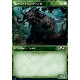 Garruk's Gorehorn (Extras V.1) FOIL