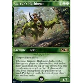 Garruk's Harbinger (Extras V.1) FOIL