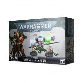 Necrons Warriors and Paint Set [PRZEDSPRZEDAŻ]