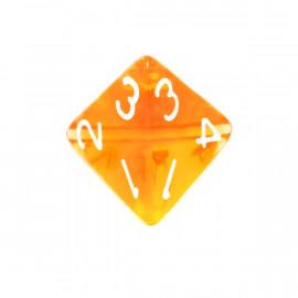 Kość Rebel K4 - kryształowa pomarańczowa