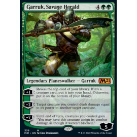 Garruk, Savage Herald FOIL
