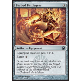Barbed Battlegear FOIL (Scars of Mirrodin)