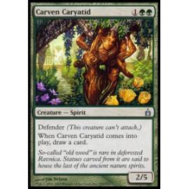 Carven Caryatid (Ravnica: City of Guilds) [GOOD]