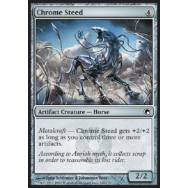 Chrome Steed FOIL (Scards of Mirrodin)