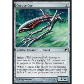 Corpse Cur FOIL (Scars of Mirrodin) [EX]