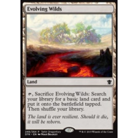 Evolving Wilds (Tarkir Dragonfury)