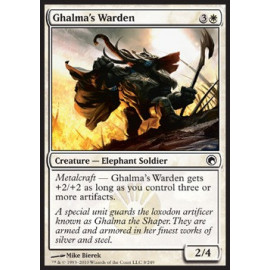Ghalma's Warden FOIL (Scards of Mirrodin)